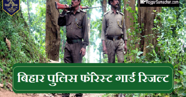Bihar Police Forest Guard Result