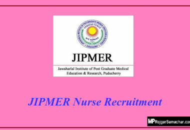 JIPMER Nurse Recruitment